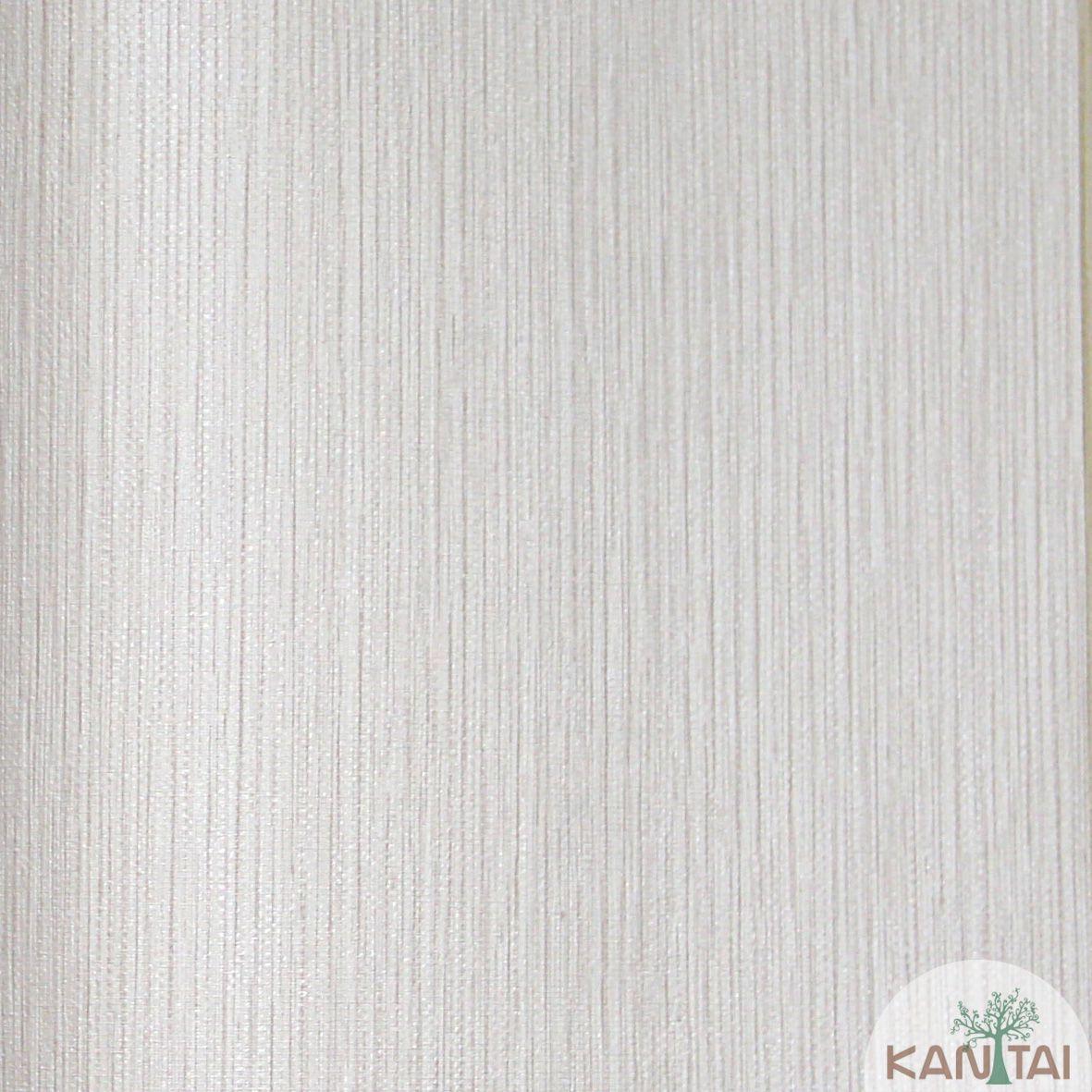 Papel de Parede Importado  Kan Tai  TNT Coleção Grace Textura Riscas Verticais Bege
