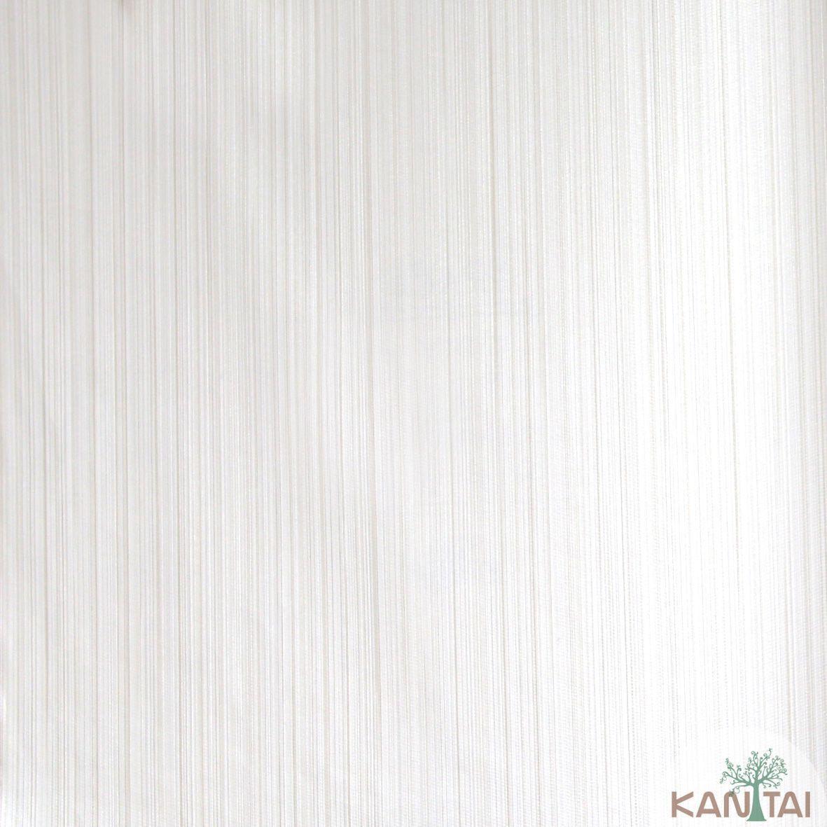 Papel de Parede Importado  Kan Tai  Vinílico Coleção Grace Textura Listras Finas Tons Creme