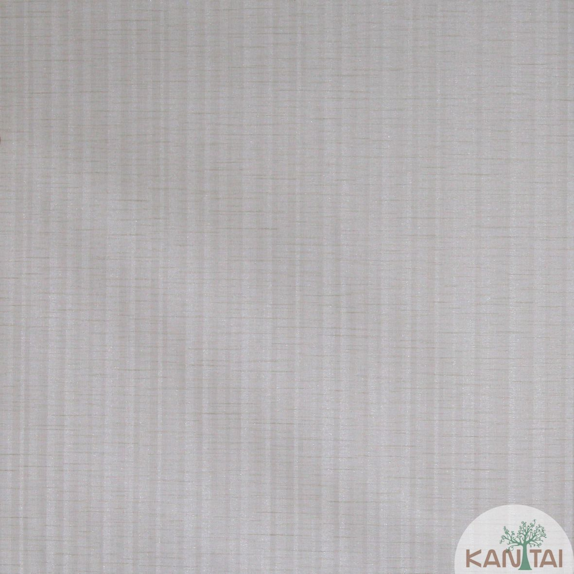 Papel de Parede Importado  Kan Tai TNT Coleção Grace Textura Listrado Tons Creme