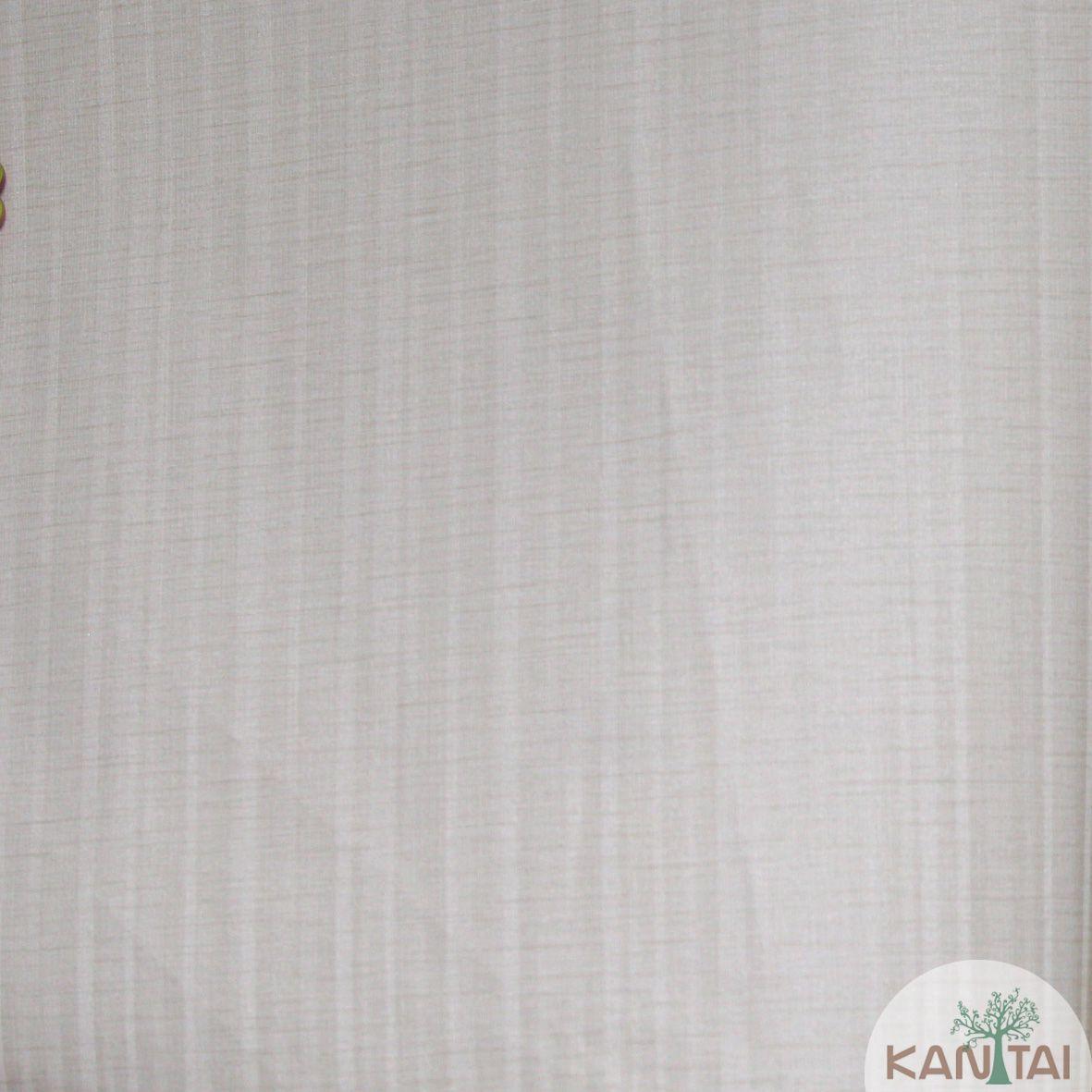 Papel de Parede Importado Kan Tai  TNT Coleção Grace Textura Listrado Verticais Bege