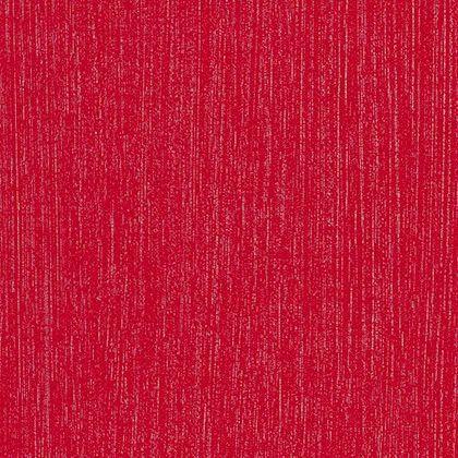 Papel de Parede Finottato Non Woven Coleção Tic Tac Vermelho Riscas Verticais Prata