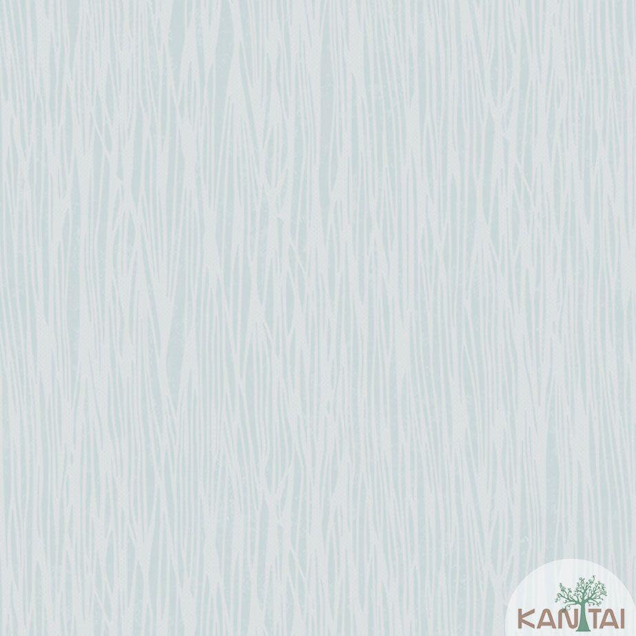 Papel de Parede Kan Tai TNT Coleção Veneza Textura Riscas Verticais Verde Claro, Bege,  Alto relevo