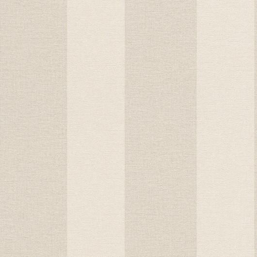 Papel de Parede Finottato Non Woven Coleção Grace Textura Tecido Listrado Bege, Areia