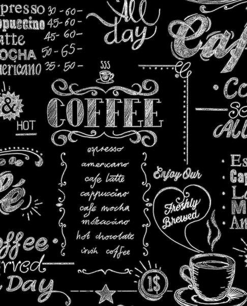 Papel de Parede Finottato Non Woven Coleção Temper Arte em Giz Café Preto, Branco