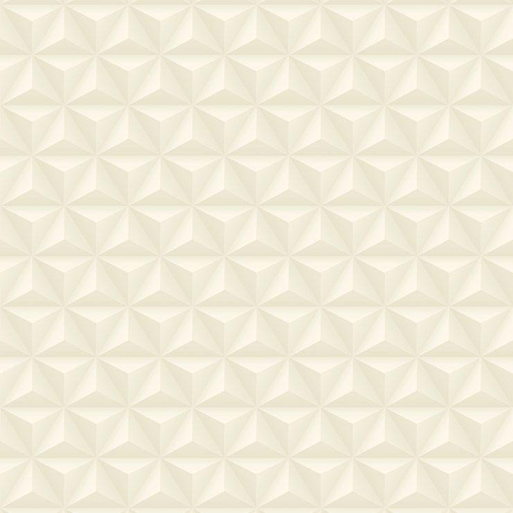 Papel de parede Coleção Diplomata geométrico 3D bege claro