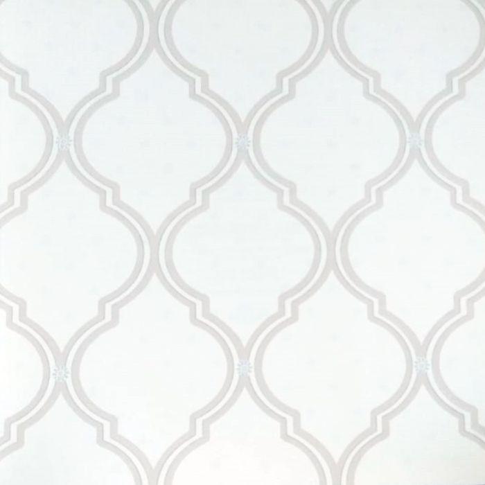 Papel de parede  Infantil Coleção Olá Baby 2 Geométrico Creme, Marrom