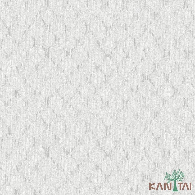 Papel de Parede Kan Tai TNT Coleção Vision Geométrico Bege, Dourado, Brilho