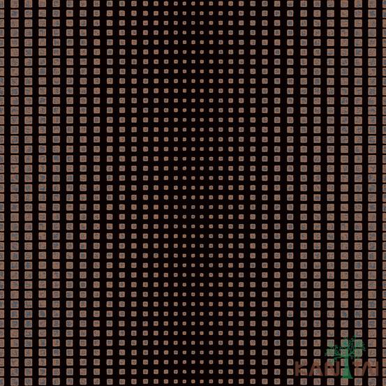 Papel de Parede Kan Tai TNT Coleção Vision Geométrico Preto, Dourado