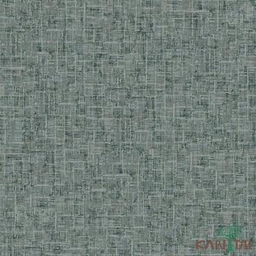 Papel de Parede Kan Tai TNT Coleção Vision Textura abstrato Cinza, Verde, Bege