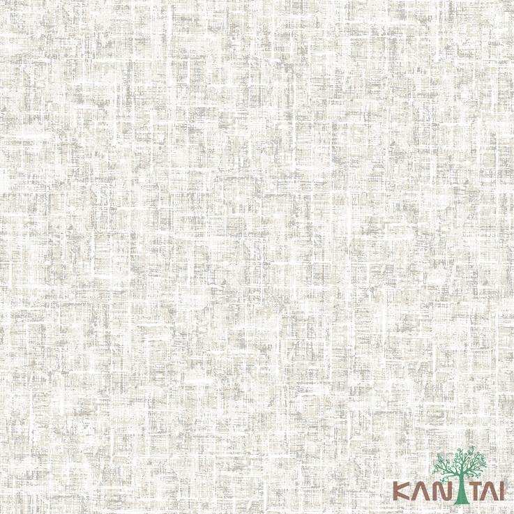 Papel de Parede Kan Tai TNT Coleção Vision Textura abstrato Tons Cinza claro, Estonado Detalhes