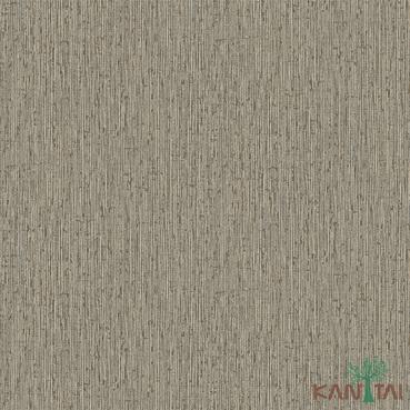 Papel de Parede Kan Tai TNT Coleção Vision Textura Bege, Dourado, Detalhes