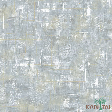 Papel de Parede Kan Tai TNT Coleção Vision Textura Cimento Tons Cinza, Detalhes, Estonado