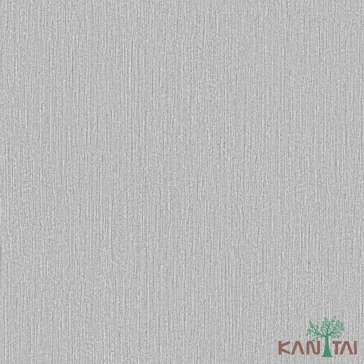 Papel de Parede Kan Tai TNT Coleção Vision Textura Cinza claro