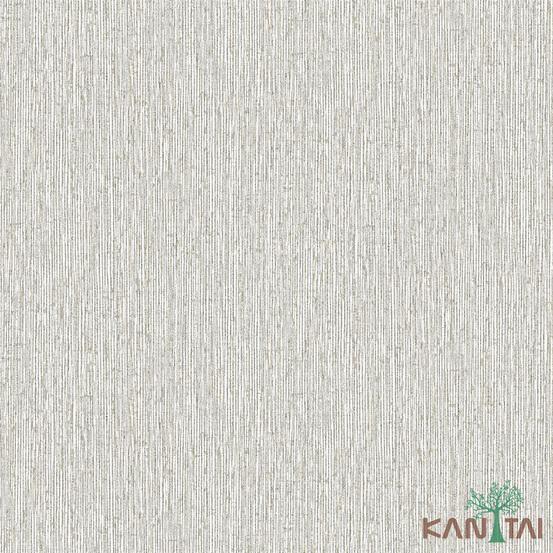 Papel de Parede Kan Tai TNT Coleção Vision Textura Creme, Bege, Detalhes