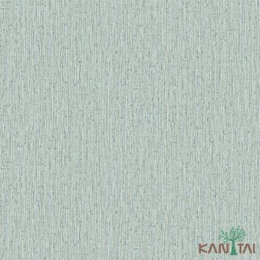 Papel de Parede Kan Tai TNT Coleção Vision Textura Verde, Creme, Dourado, Detalhes