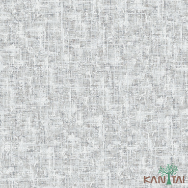Papel de Parede Kan Tai TNT Coleção Vision Textura Abstrato Tons cinza médio, Estonado, Detalhes