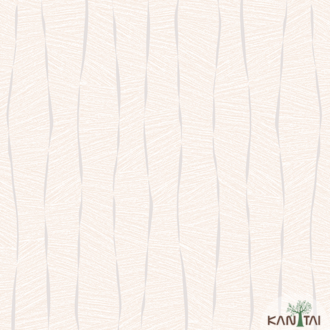 Papel de Parede Kan Tai TNT Infantil Coleção YoYo Textura Formas Lilás, Detalhes