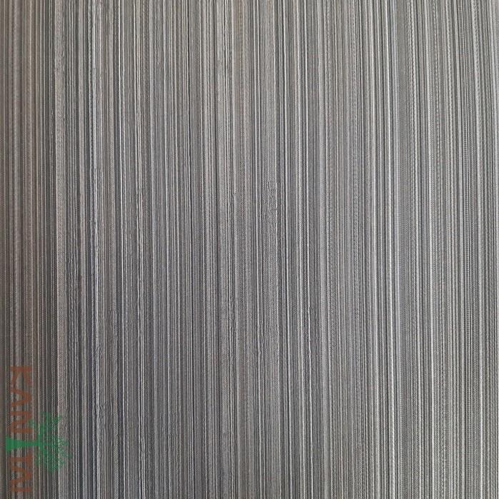 Papel de Parede Kan Tai Vinílico Coleção Grace 3 Textura Listrado Listras Finas Dourado, Grafite, Detalhes, Brilho