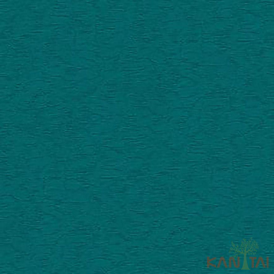 Papel de Parede Kan Tai Vinílico Coleção Stone Age 2 Textura Ciano, Detalhes, Brilho
