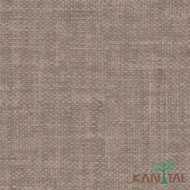 Papel de Parede Kan Tai Vinílico Coleção Classici 2 Textura linho Marrom médio