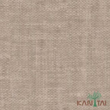 Papel de Parede Kantai Vinílico Coleção Classici 2 Textura linho Marrom Claro