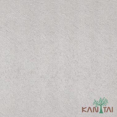 Papel de Parede Kantai Vinílico Coleção Classici 2 Textura Cinza Claro, Detalhes, Brilho