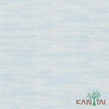 Papel de Parede Kantai Vinílico Coleção Classici 2 Textura riscais Azul claro