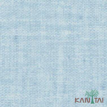 Papel de Parede Kan Tai Vinílico Coleção Classici 2 Textura linho Azul