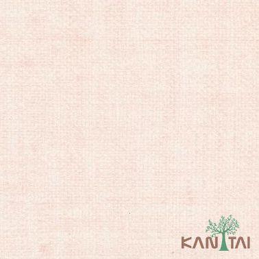 Papel de Parede Kantai Vinílico Coleção Classici 2 Textura linho Rosê
