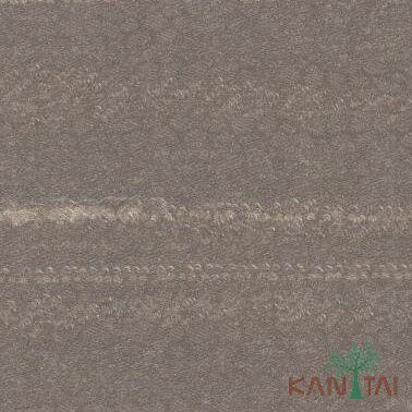 Papel de Parede Kan Tai Vinílico Coleção Classic 2 Textura Marrom, Detalhes, Riscas verticais, Leve brilho
