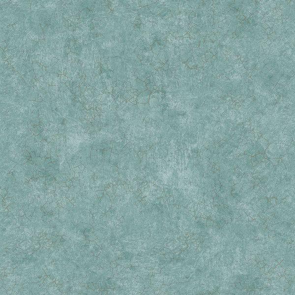 Papel de Parede Kantai Vinílico Coleção Poet Chart 3 Textura Azul, Detalhes Dourado