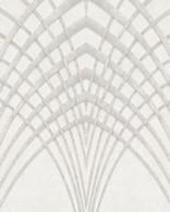Papel de Parede Marburg Non Woven Coleção Modernista Geométrico Gráfico Bege, Dourado, Prata, Brilho