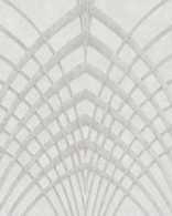 Papel de Parede Marburg Non Woven Coleção Modernista Geométrico gráfico Bege, Prata, Brilho
