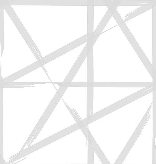 Papel de parede Finottato Non Woven Coleção Twist Rabisco Cinza, Branco