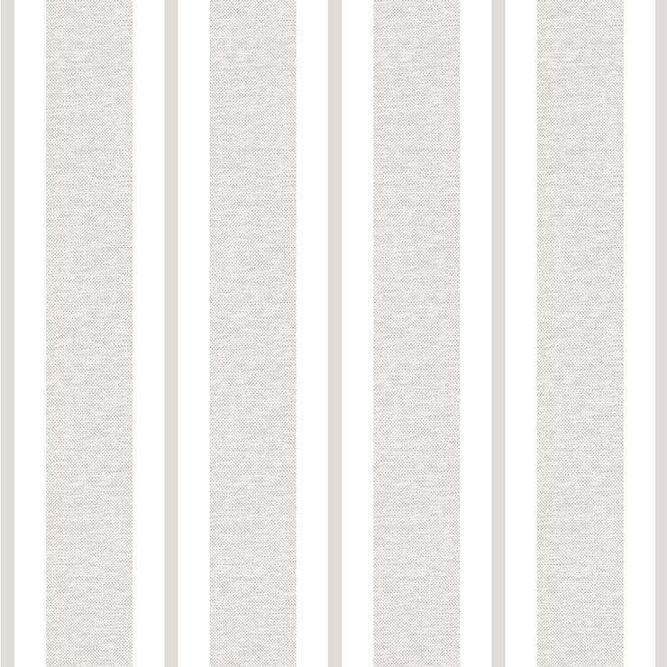 Papel de parede Infantil Bobinex Coleção Renascer Listras Cinza, Branco, Bege