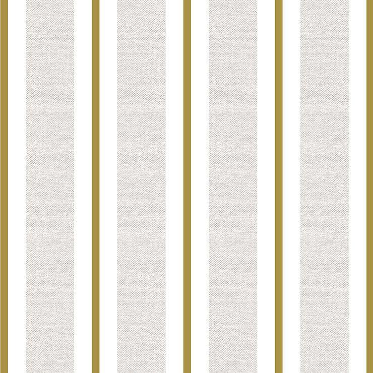 Papel de parede Infantil Bobinex Coleção Renascer Listras Bege, Creme, Dourado
