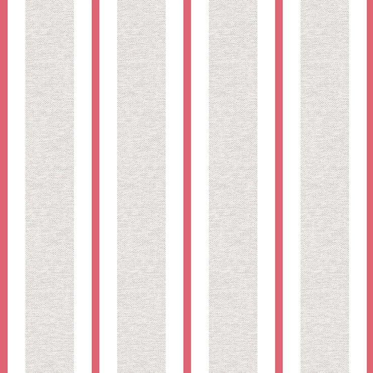 Papel de parede Infantil Bobinex Coleção Renascer Listras Bege, Creme, vermelho