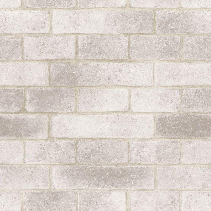 Papel de parede Coleção Natural tijolinho cinza