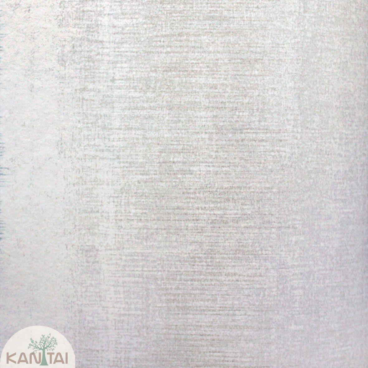 Parede de parede Kan Tai TNT Coleção Space 4 Textura Cinza, Detalhes Riscas Verticais Verde