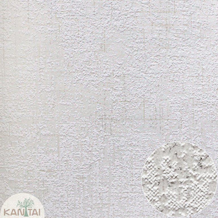 Parede de parede Kan Tai TNT Coleção Space 4 Textura Off white, Dourado