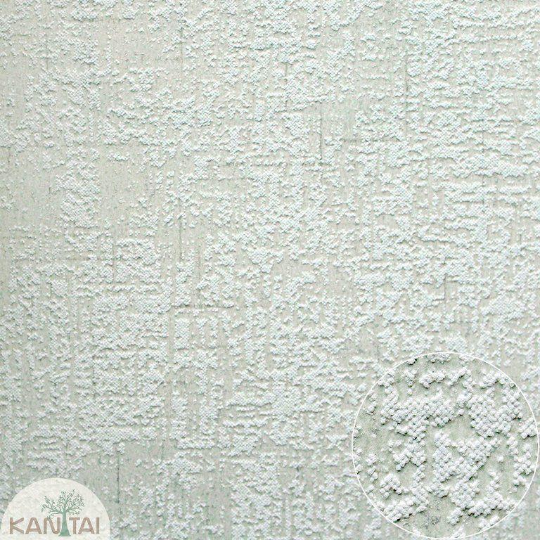 Parede de parede Kan Tai TNT Coleção Space 4 Textura verde claro, Dourado