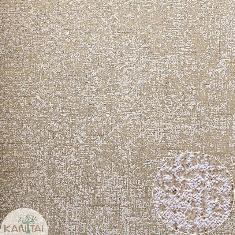 Parede de parede Kan Tai  TNT Coleção Space 4 Textura Marrom, Dourado