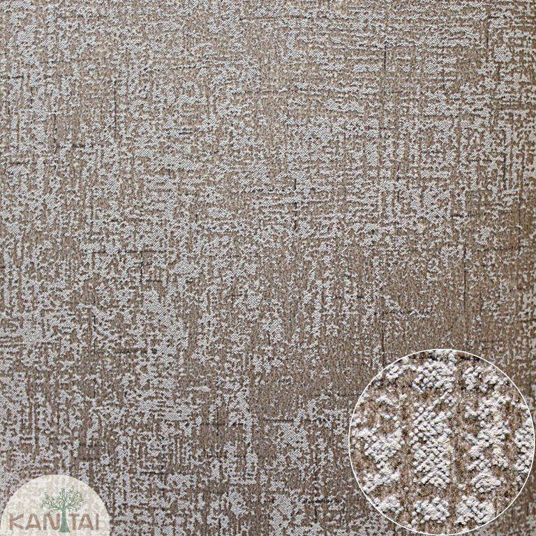 Parede de parede Kan Tai TNT Coleção Space 4 Textura Marrom, Cinza