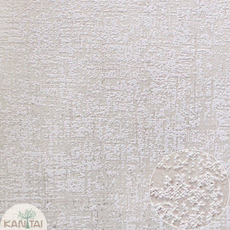 Parede de parede Kan Tai TNT Coleção Space 4 Textura Bege claro, Dourado