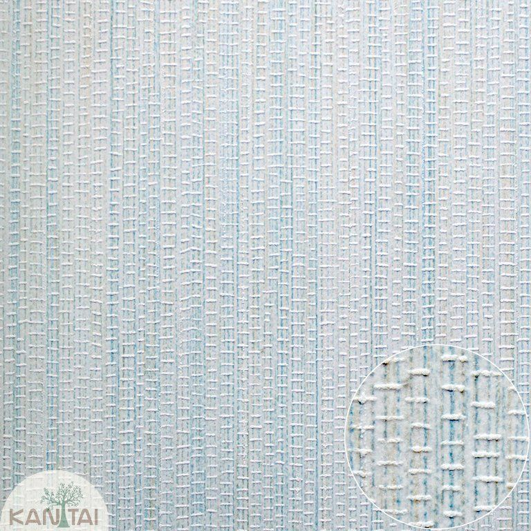 Parede de parede Kan Tai TNT Coleção Space 4 Textura trama Tons Azul claro