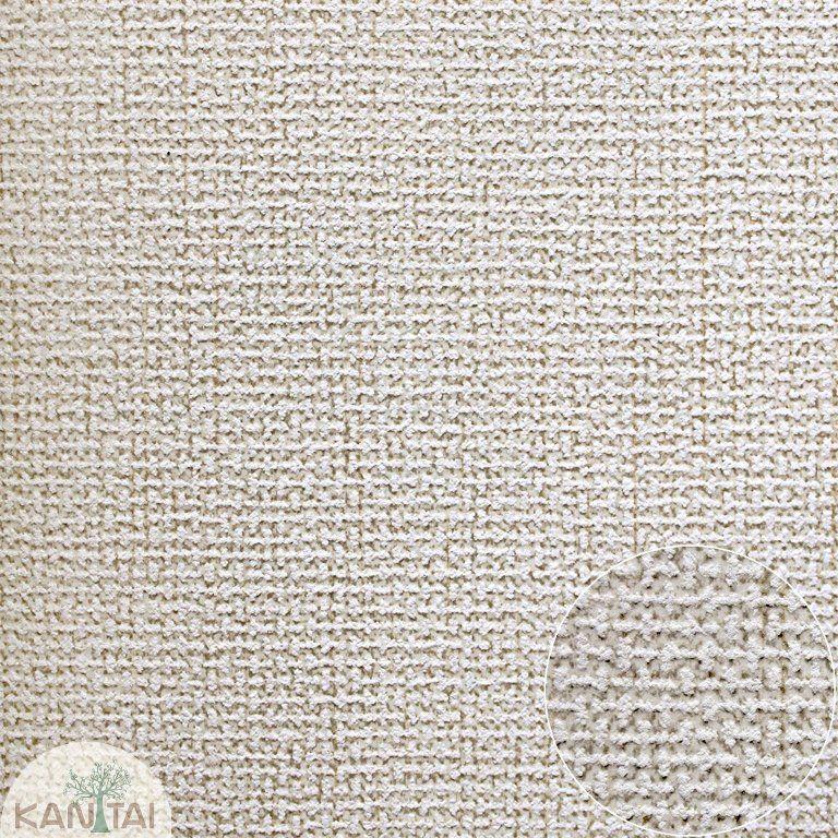 Parede de parede Kan Tai TNT Coleção Space 4 Textura linho Tons Verde claro