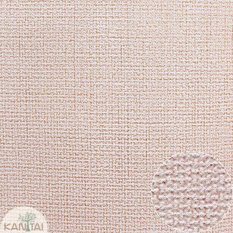Parede de parede Kan Tai TNT Coleção Space 4 Textura Linho Rosê