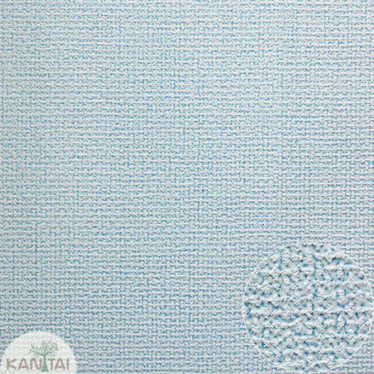 Parede de parede Kan Tai  TNT Coleção Space 4 Textura linho Azul claro