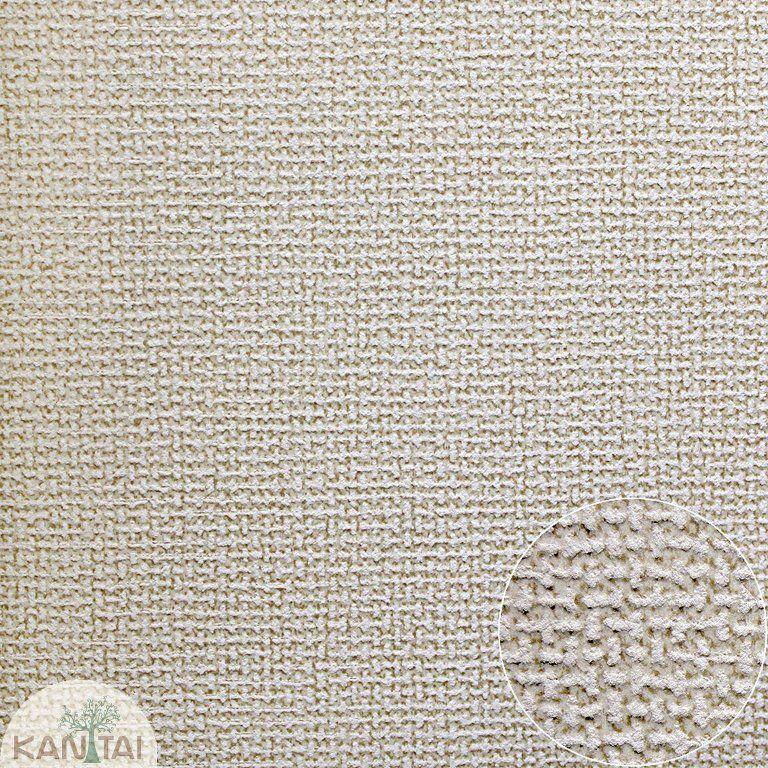Parede de parede Kan Tai TNT Coleção Space 4 Textura linho Tons Creme