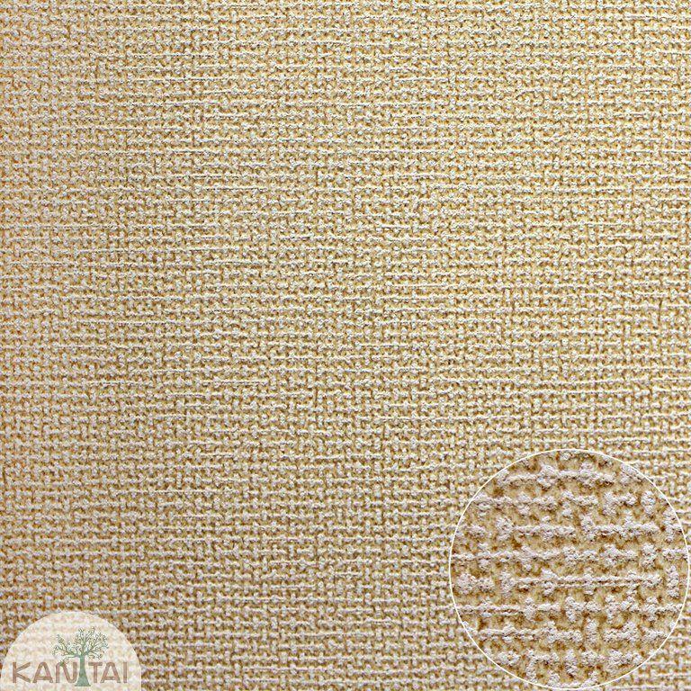 Parede de parede Kan Tai TNT Coleção Space 4 Textura linho Bege
